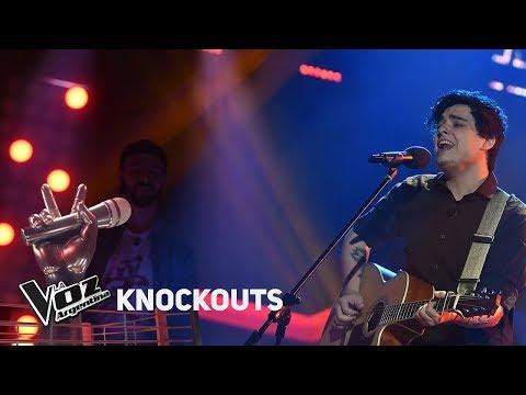 Knockout #TeamAxel: Fede Gómez vs Mariano Amante - La Voz Argentina 2018