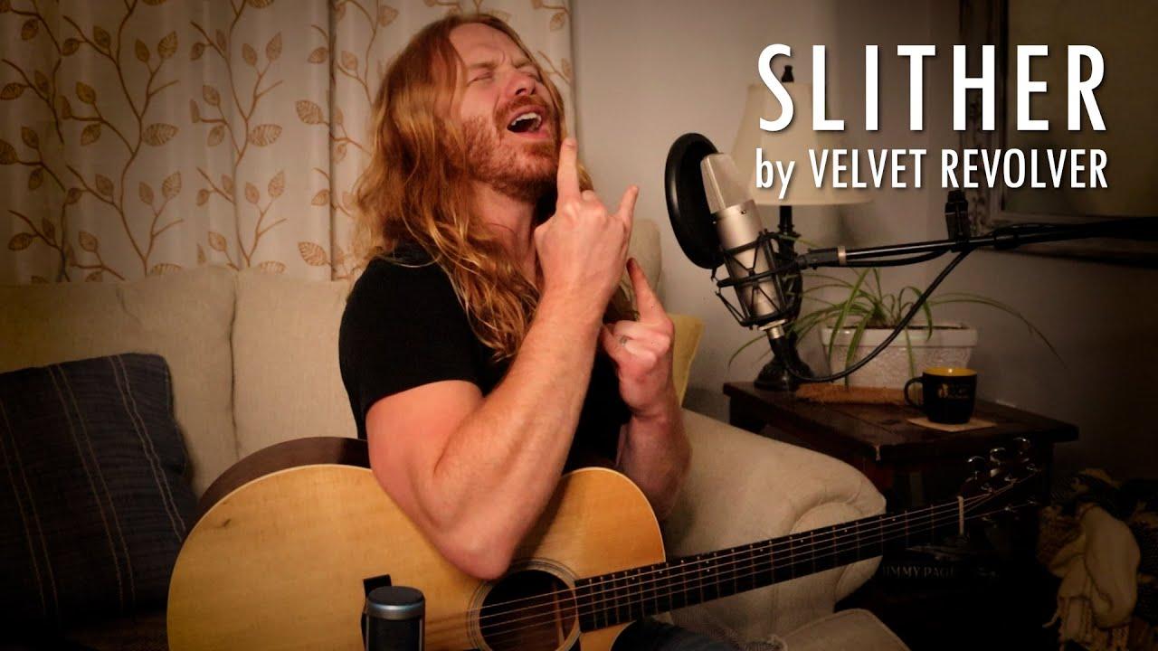 """""""Slither"""" by Velvet Revolver - Adam Pearce (Acoustic Cover)"""