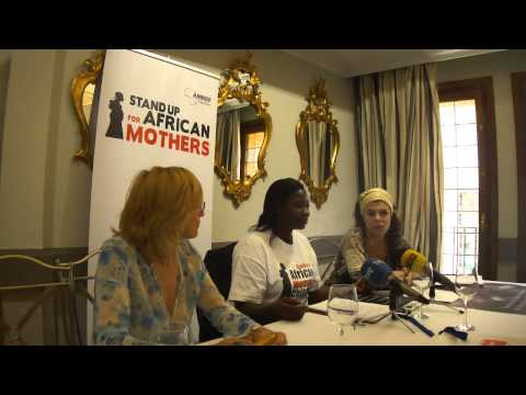 AMREF Flying Doctors. Stand up for African Mothers. Esther Madudu .6/6/2012