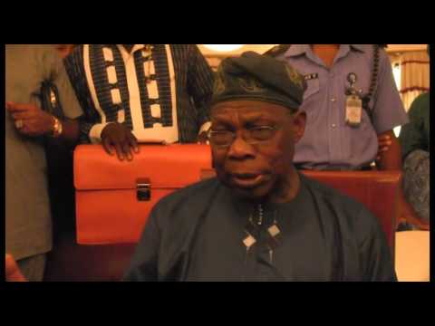 [VIDEO] Obasanjo to Jonathan: I will nominate you for global assignment