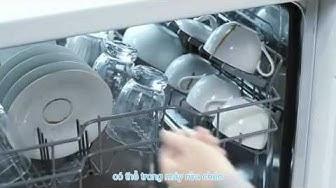 Máy rửa bát hoạt động như thế nào - Máy rửa bát giá rẻ nhất Hà Nội