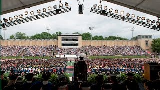 President Subra Suresh's Charge - Commencement 2017
