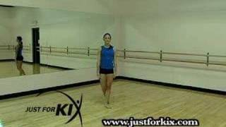 Turning 2nd Position Leap Tutorial and Demonstration from Just For Kix