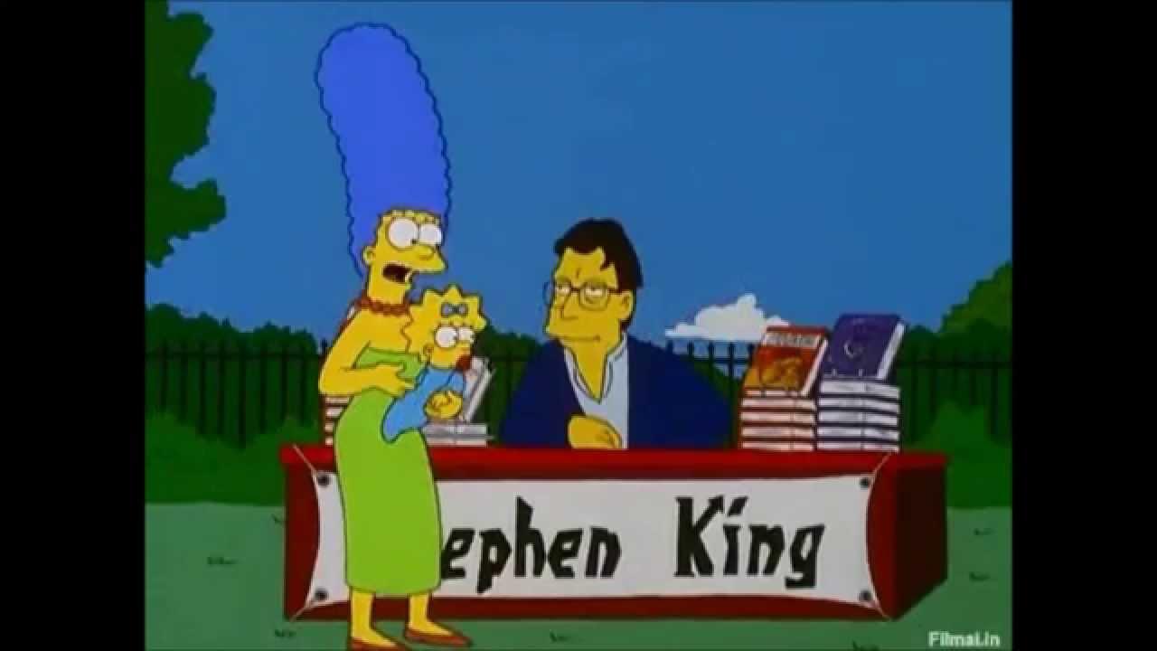 The Simpsons: Stephen'o King'o scena. - YouTube