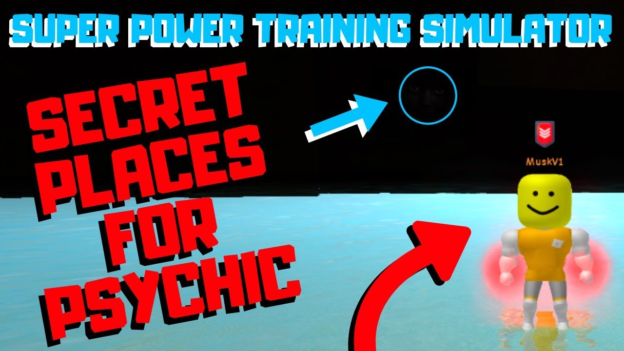 Top 4 SECRET Places To Increase PSYCHIC POWER! | Super Power