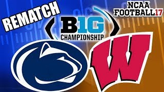 BIG 10 Tournament Championship - NCAA Football 2017 (2016 Season on NCAA 14)