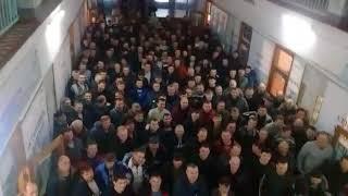 Ждем самого Лакшми Миталла - бастующие шахтеры начали видеофлешмоб