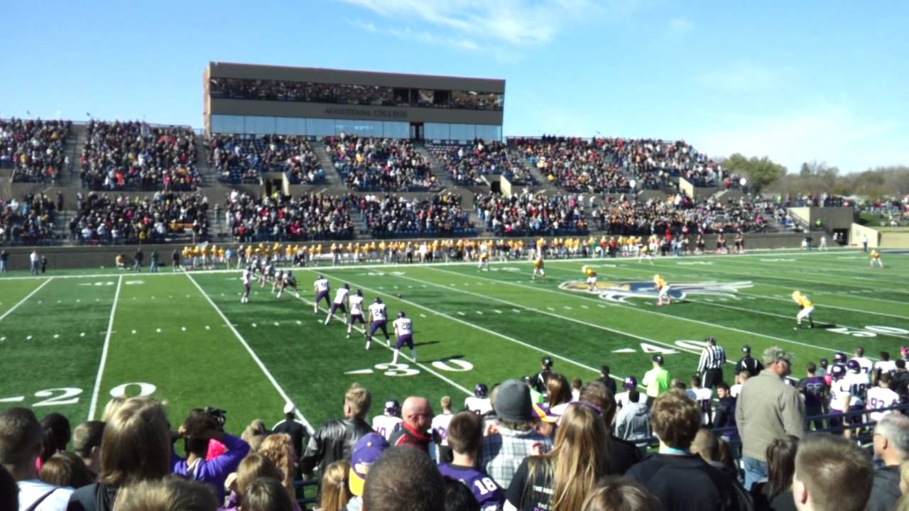2012 University Of Sioux Falls Vs Augustana Football Youtube