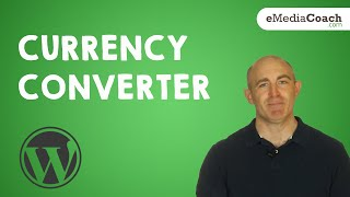 WordPress Currency Converter Plugin