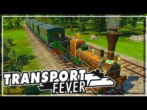Wild West! - Transport Fever first impressions & first mission pt 1 - Transport Fever gameplay