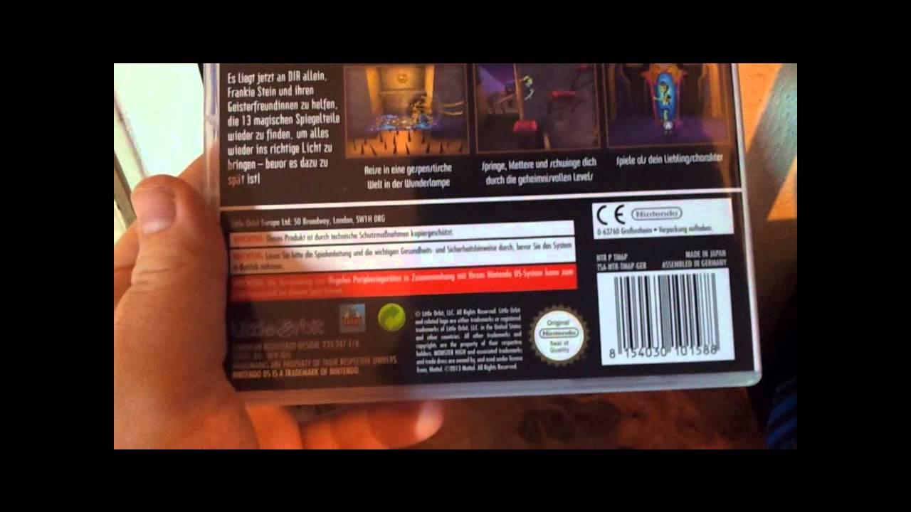 Monster High 13 Wünsche Ds Spiel Review