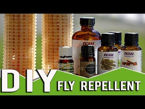Homemade Fly Repellent Hangers For Your Barn Using Essential Oils