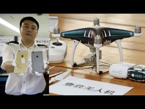 Chinese Customs Busts Smugglers using Drones to transport iPhones into China