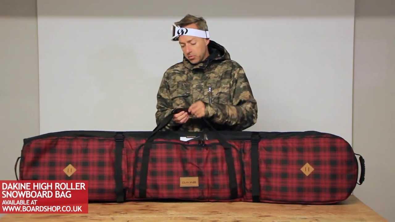 Dakine High Roller Snowboard Bag review - YouTube f8488291868ac