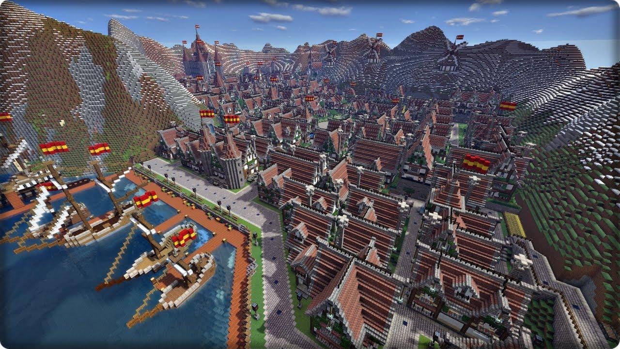 「街 マイクラ」の画像検索結果