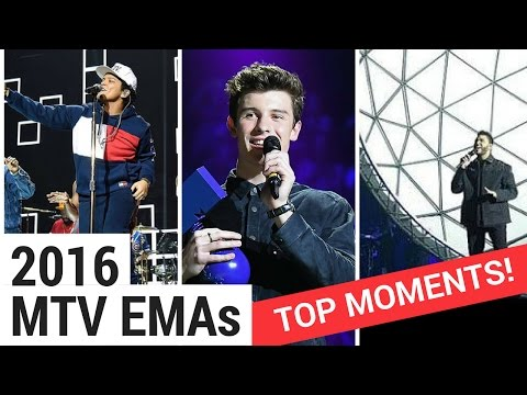Top 10 Moments From The 2016 MTV EMAs!