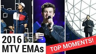 Top 10 Moments From The 2016 MTV EMAs!(, 2016-11-08T00:55:07.000Z)