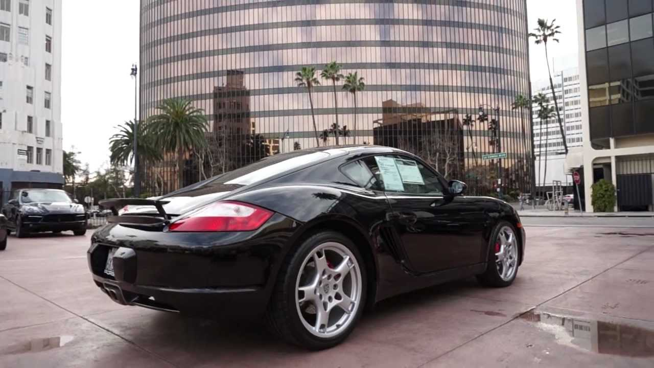 Certified Pre Owned >> 2008 Porsche Cayman S 6 speed Black 19 inch Carrera S in ...