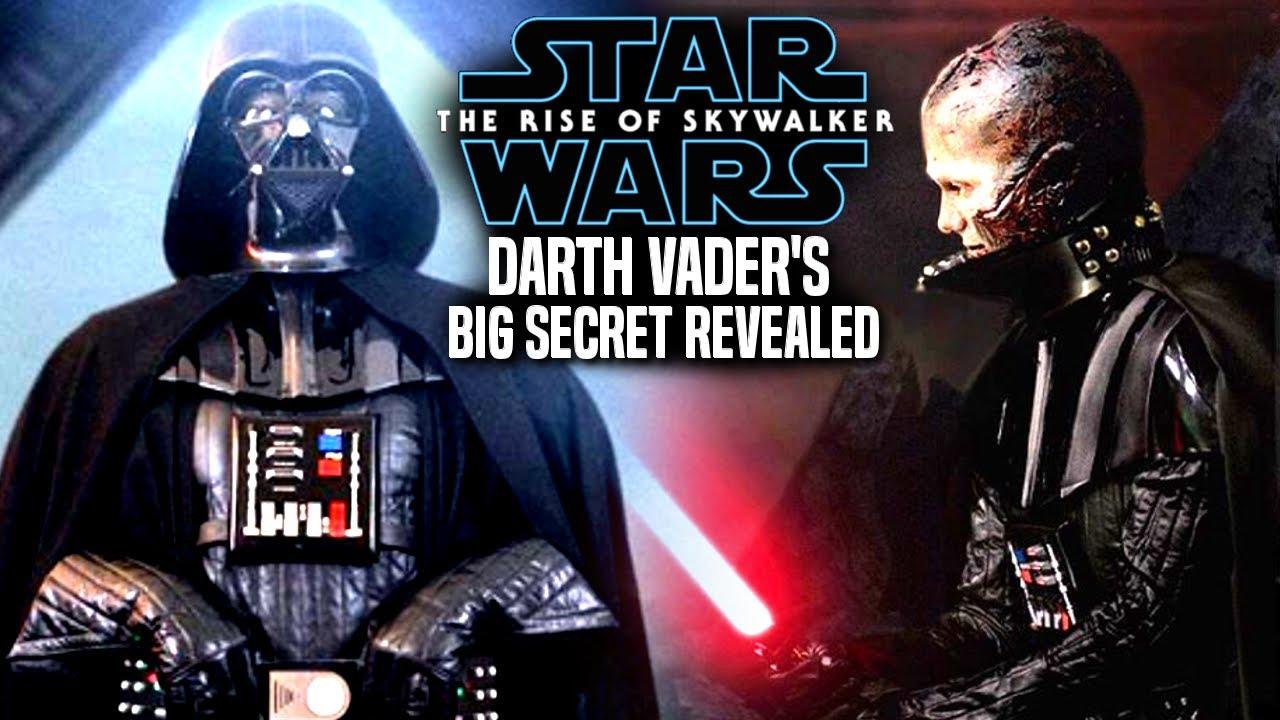 The Rise Of Skywalker Darth Vader S Big Secret Revealed Leaked Details Star Wars Episode 9 Youtube