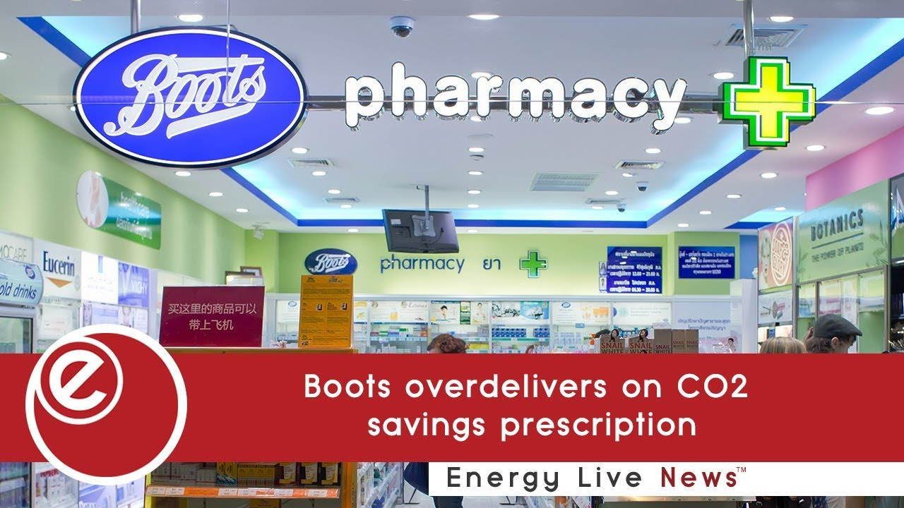 best service de673 1a2b8 Boots overdelivers on CO2 savings prescription - Energy Live ...