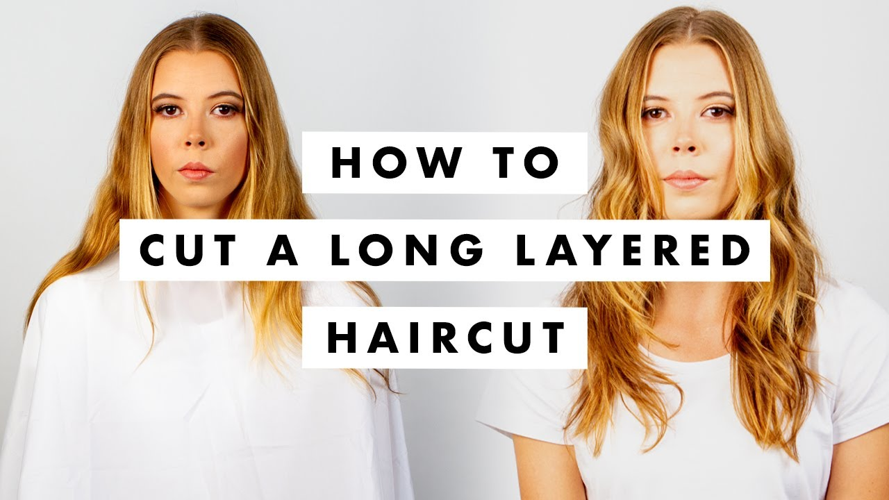 Download How to Cut Hair:  Long layers like Gigi Hadid  - Tutorial / Lesson - MIG Training