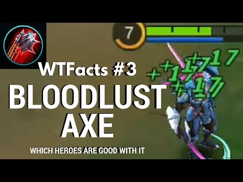 Blood Axe Is The Best Item For Balmond, Alucard, Saber or Ruby