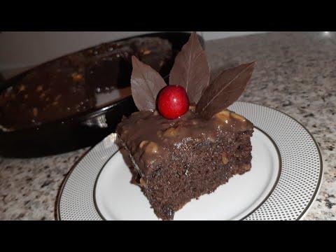 Банановый шоколадный Брауни очень простой рецепт//AJOIB SUTLI KAKAOLI PIROG KREMSIZ YENGIL MAZALI