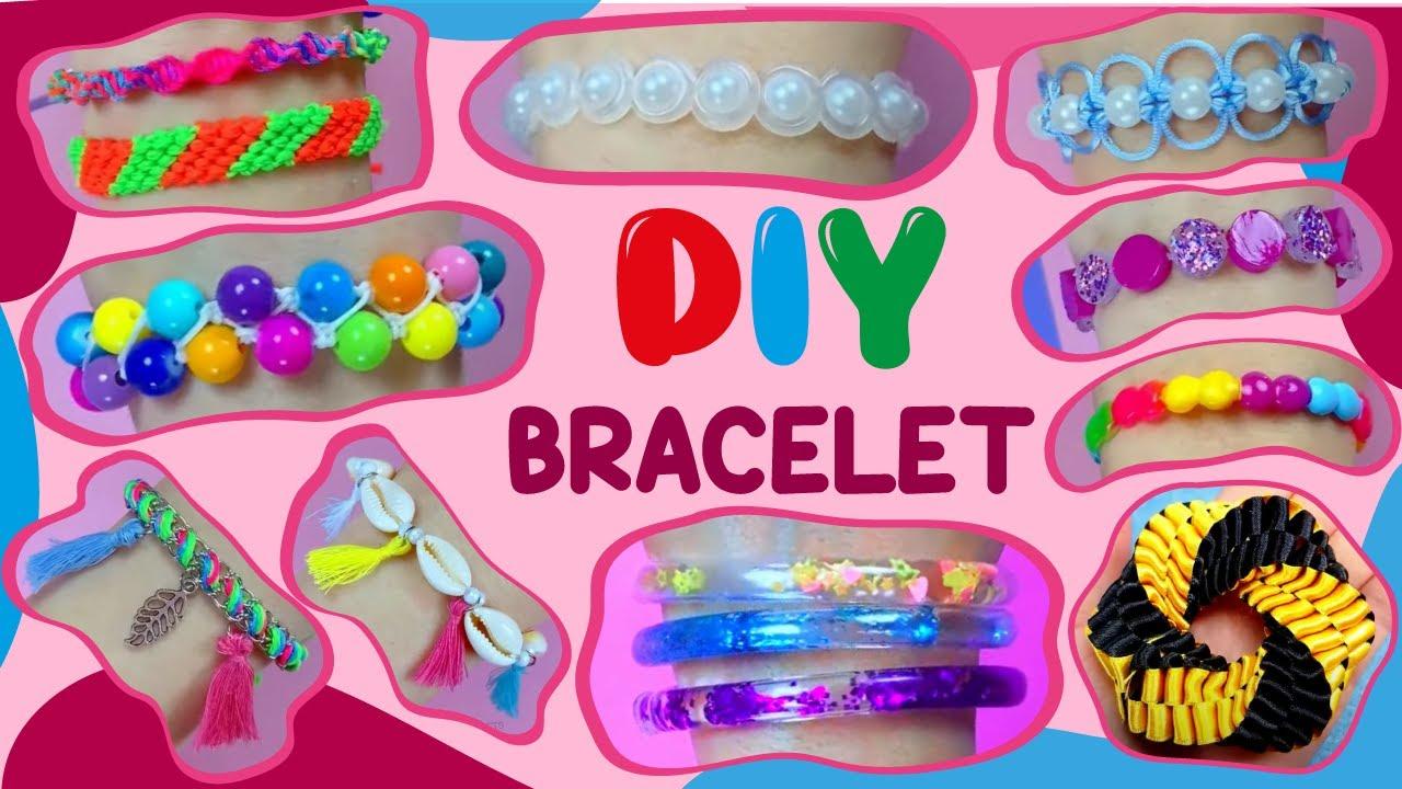 12 DIY BRACELET - EASY TO MAKE, CHEAP and CREATIVE BRACELET IDEAS