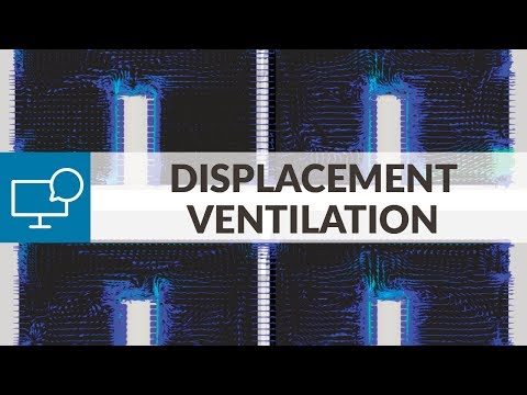Displacement Ventilation Design with CFD