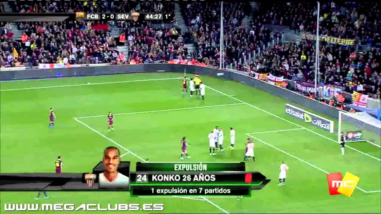 FC Barcelona Vs Sevilla 5-0 HD - YouTube