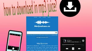 Download How to download in mp3 juice |Rhea tababoy|