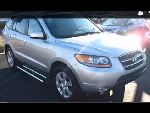 2007 Hyundai Santa Fe Limited Walkaround, Start up, Full tour and Overview