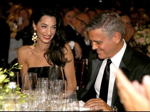 amal alamuddin george clooney started dating