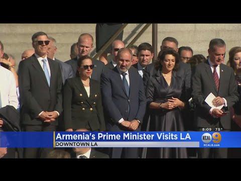 Armenian President Visits