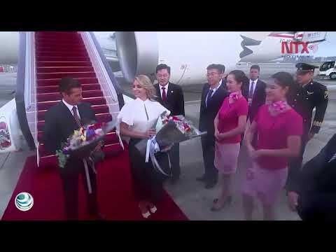 Peña Nieto llega a China; participará en Diálogo de Líderes emergentes