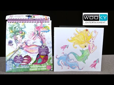 Splash of Color Mermaid Splash from Wooky Entertainment