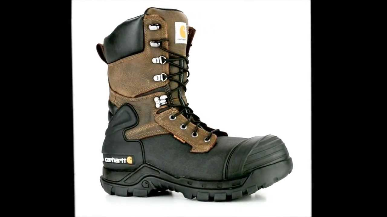 Men's Carhartt CMC1259 Composite Toe Waterproof and Insulated Work ...