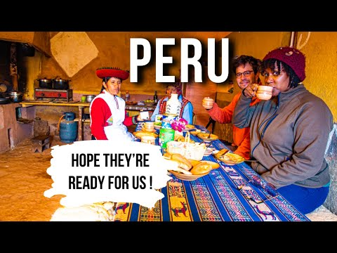 PERU: LIVING 24 Hours With An INDIGENOUS FAMILY In The Andes Pt. 2    Peru 2019 Vlog