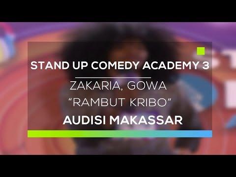 Stand Up Comedy Academy 3 : Zakaria, Gowa - Rambut Kribo