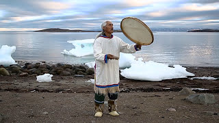 MASTER CLASS: NORTH BAFFIN DRUM by Pakak Innuksuk