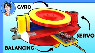 How this Active Gyroscope Balances