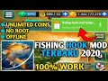 Gambar cover Update!! Kail Pancing Mod Terbaru 2020 V2.3.5  Unlimited Coins 100% Work Link MediaFire