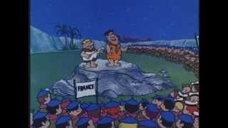 Old MacDonald by the Flintstones World Jamboree. Classic Animated Cartoon Performance