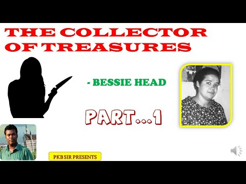 The Collector of Treasures by Bessie Head::Short Story:: Line by line text analysis in Bengali