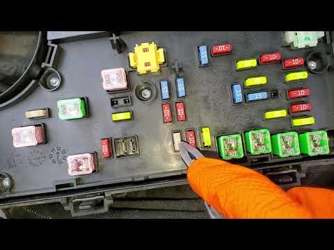 2013 Chrysler 200 Fuse & Relay Identification - YouTubeYouTube