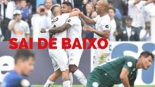 Santos, líder, goleia, Bahia x Flamengo, Corinthians x Palmeiras... Veja como foi a LIVE