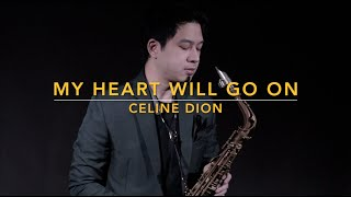 My Heart Will Go On - Celine Dion (Saxophone Cover) Saxserenade
