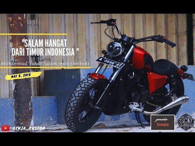 Custom Motor Pulau Seberang  [Senja Vlog]