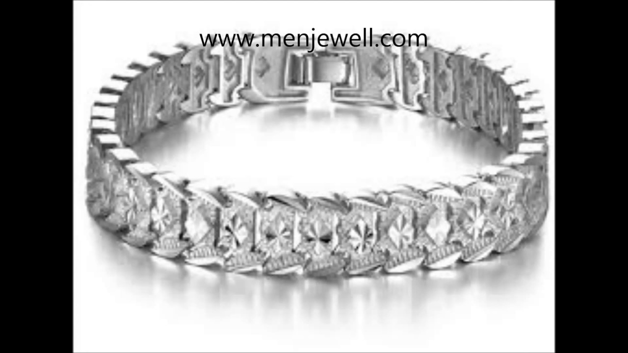 c837d08bd469c Latest jewellery design mens Silver Bracelet for men by menjewell ...