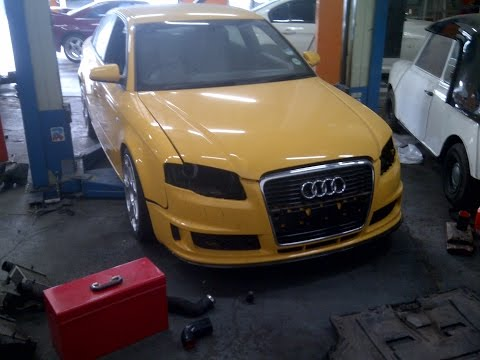 Audi A4 DTM 2.0T Exhaust Sound Powerflow Durban